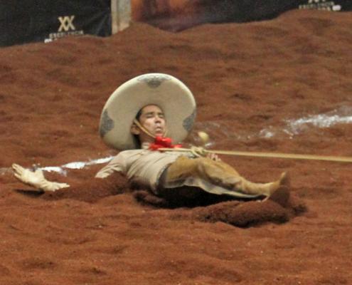 Alejandro Aragón derribó esta mangana a pie usando el tirón del ahorcado, por Entre Amigos 3G