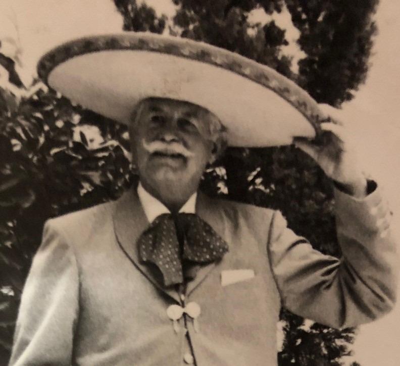 Don Carlos Sánchez Llaguno Charro Mayor
