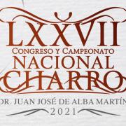 Emblema del LXXVII Congreso y Campeonato Nacional Charro