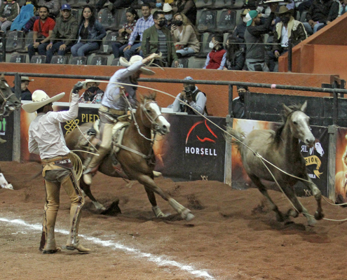 Francisco Cerón allanó el camino para la clasificación de Rancho San Martín a las finales de Excelencia Charra