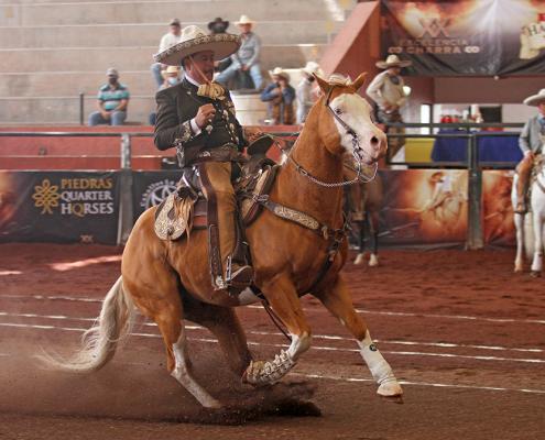Miguel Ángel Vega presentó cala de caballo de 42 puntos para los Charros de La Laguna A