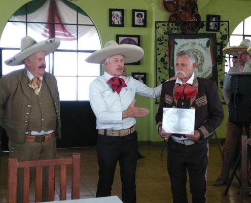 Entrega de Reconocimientos en el 101 Aniversario Charros de Jalisco