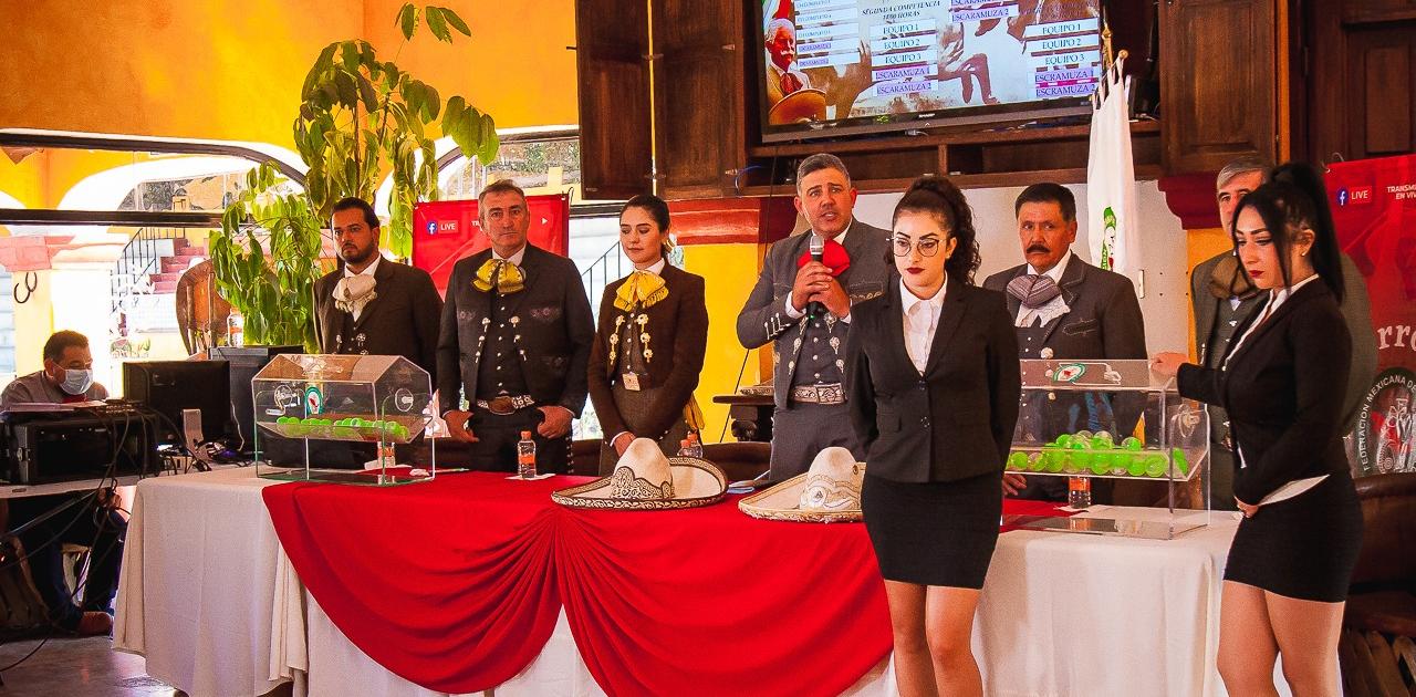 Sorteo del Campeonato Nacional de Charros Mayores en Charros del Pedregal