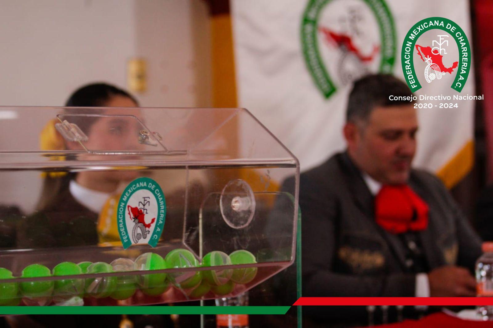 Con total transparencia se llevó a cabo el Sorteo del Campeonato de Charros Mayores