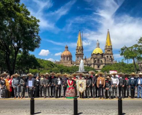Charros-de-Jalisco foto conmemorativa 101 Aniversario