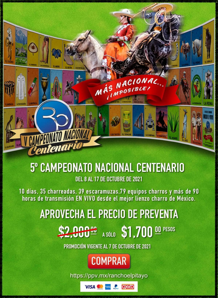 PPV V Nacional Centenario Rancho El Pitayo