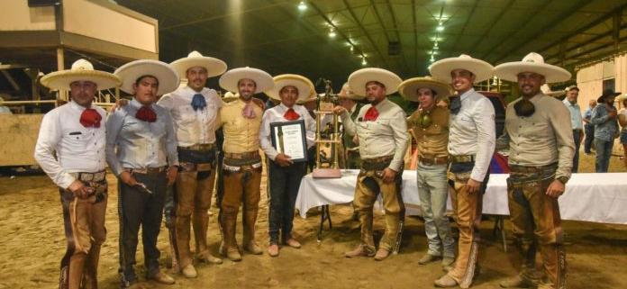 premiacion campeones EU Hacienda del Valle