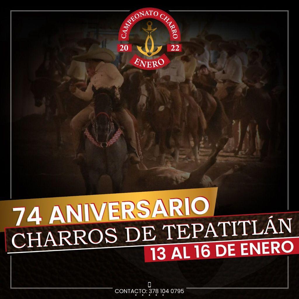 Charros de Tepatitlán 74 Aniversario