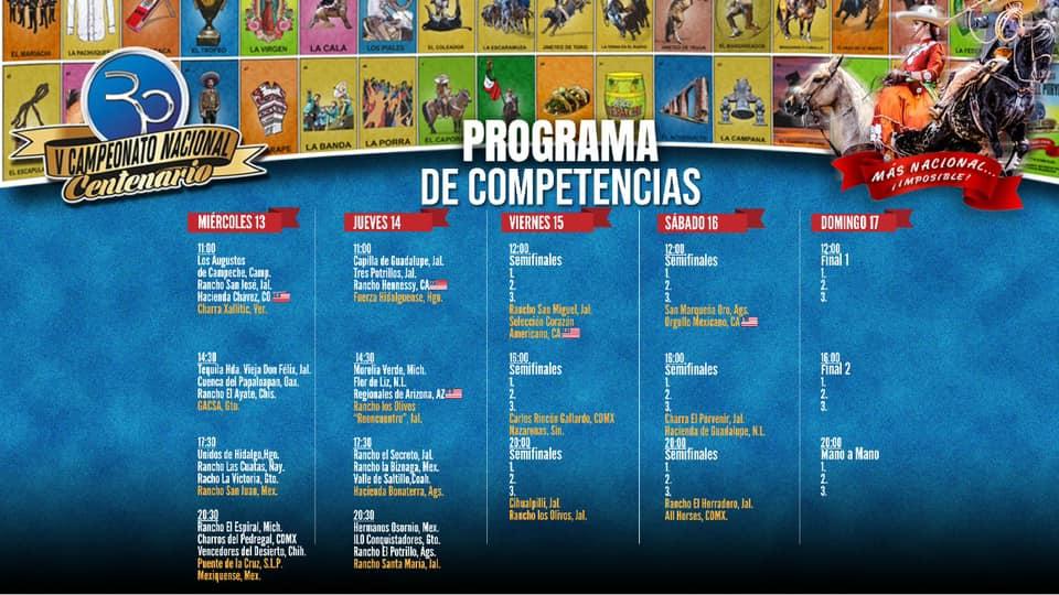 Rancho El Pitayo Programa