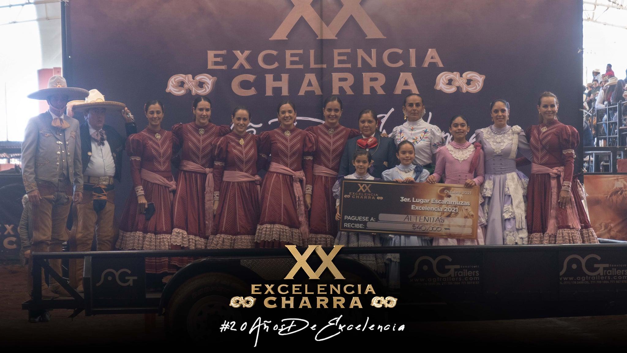 Alteñitas de Guadalajara Tercer Lugar